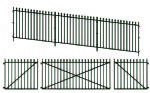 Peco LK-742 GWR Spear Fencing Ramps & Gates